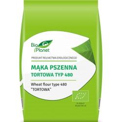 Mąka pszenna tortowa TYP 480 BIO 1kg Bio Planet
