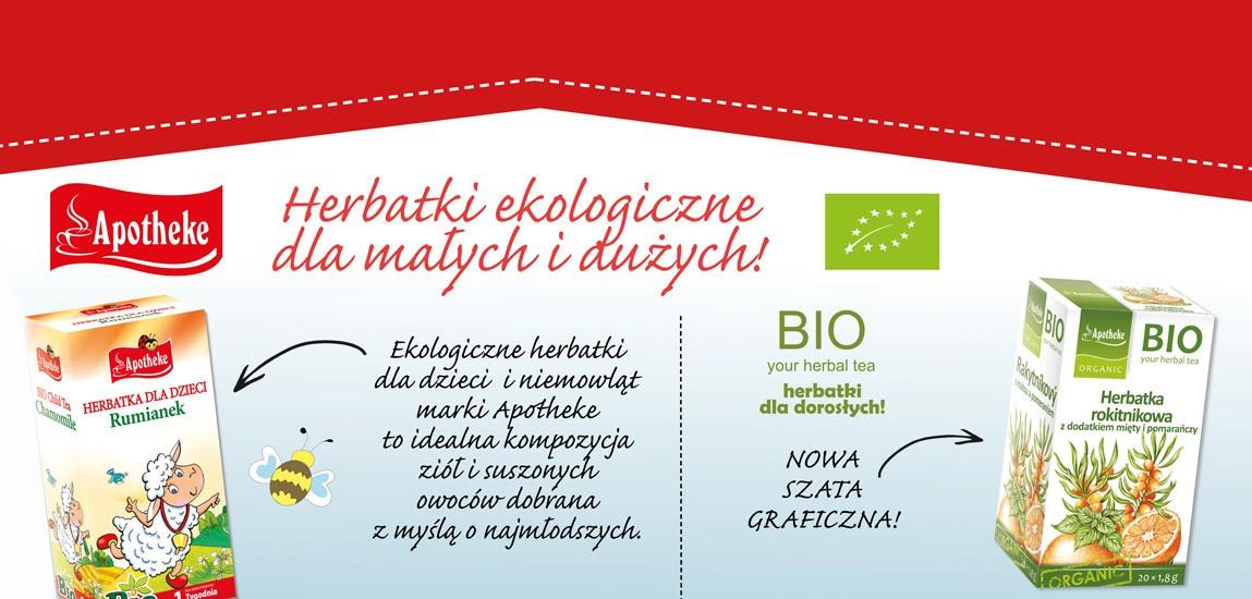 Herbatki ekologiczne dla dzieci