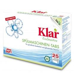 Tabletki do zmywarek ECO 25szt. KLAR