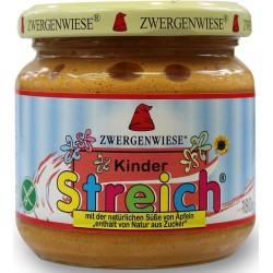 Pasta słonecznikowa dla dzieci bez cukru bezglutenowa BIO 180g Zwergenwiese