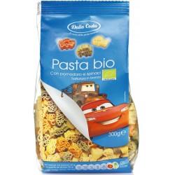 Makaron semolinowy trójkolorowy Disney Auta BIO 300g Dalla Costa