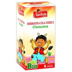 Herbatka dla dzieci - OWOCOWA BIO- 20x1,5g Apotheke