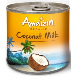 Mleczko kokosowe ( 17% tłuszczu) BIO 200ml Amaizin