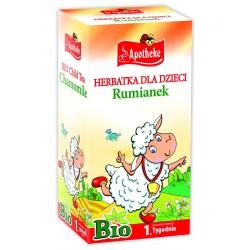 Herbatka dla dzici - RUMIANKOWA BIO- 20x1,5g Apotheke
