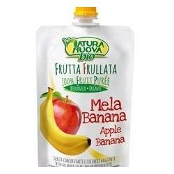 Przecier jabłkowo - bananowy BIO 100g Natura Nuova