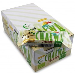 Baton chałwa sezamowa z wanilią BIO 50g Croc- Crac
