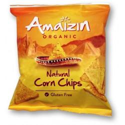 Chipsy kukurydziane solone bezglutenowe BIO 75g AMAIZIN