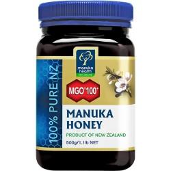 Miód nektarowy Manuka MGO 100+ 500g