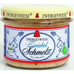 Smalczyk wegański z cebulą bezglutenowy BIO 165g Zwergenwiesie