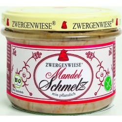 Smalczyk wegański z migdałami bezglutenowy BIO 165g Zwergenwiesie