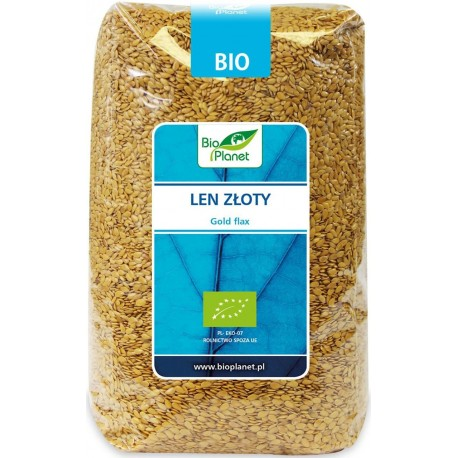 Len złoty BIO 1kg Bio Planet