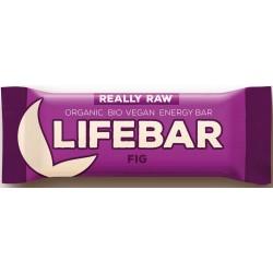 Baton z suszonymi figami RAW bezglutenowy BIO 47g Lifefood