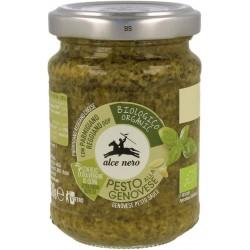 Pesto genovese- sos bazyliowy - BIO 130g Alce Nero