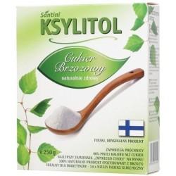 Ksylitol - cukier brzozowy - 250g Santini ( Finlandia)