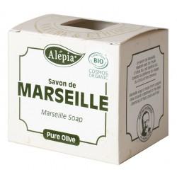 Mydło marsylskie oliwkowe 100% 230g Alepia