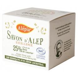 Mydło Alep EXCELLENCE 25% BIO 190 g - ALEPIA