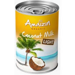 NAPÓJ KOKOSOWY LIGHT - COCONUT MILK (9% TŁUSZCZU) BIO 400 ml - AMAIZIN