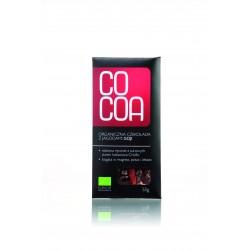 Czekolada surowa z jagodami goji BIO 50g COCOA