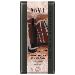 Czekolada gorzka 85% kakao BIO 100g VIVANI