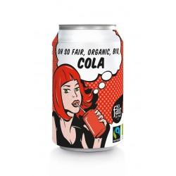 Cola FAIR TRADE BIO 330ml OXFAM