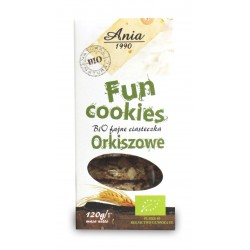 Ciastka Fun cookies orkiszowe BIO 120g Bio Ania