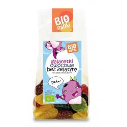 Galaretki owocowe bez żelatyny BIO 100g Biominki