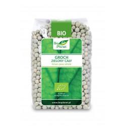 Groch zielony cały BIO 400g  Bio Planet