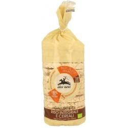 Wafle ryżowe pełnoziarniste z 4 ziarnami BIO 100g ALCE NERO