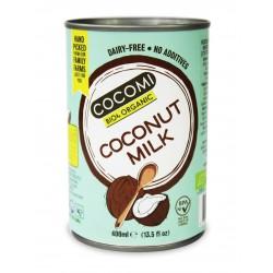 Mleczko kokosowe w puszce (17% tłuszczu) BIO 400ml Cocomi