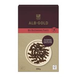 Makaron gryczany świderki bezglutenowy BIO 250g ALB GOLD