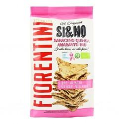 Chrupki gryczane piramidki z quinoa i amarantusem bezglutenowe BIO 80g Fiorentini