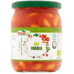 Fasolka w pomidorach BIO 440g Primaeco