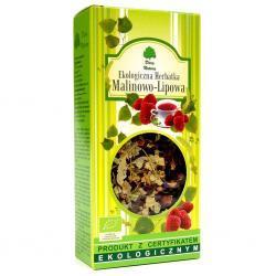 Herbatka lipowo- malinowa BIO 80g Dary Natury