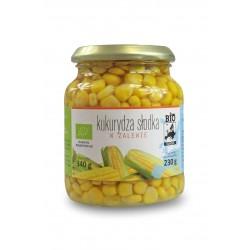 Kukurydza słodka w słoiku BIO 340g Bio Europa