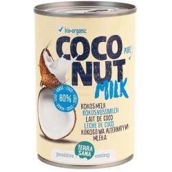 Mleczko kokosowe (22% tłuszczu) BIO 400ml Terrasana