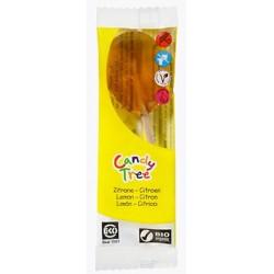 Lizaki o smaku cytrynowym bezglutenowe BIO 13g Candy Tree
