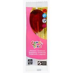Lizaki o smaku malinowym bezglutenowe BIO 40g Candy Tree