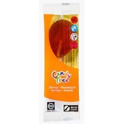 Lizaki o smaku pomarańczowym bezglutenowe BIO 13g Candy Tree