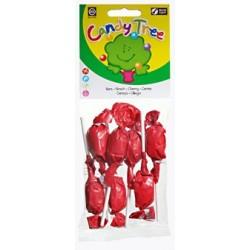 Lizaki okrągłe o smaku wiśniowym BIO 7x10g Candy Tree