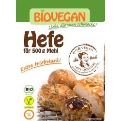 Drożdze suszone bezglutenowe  BIO 9g Bio Vegan