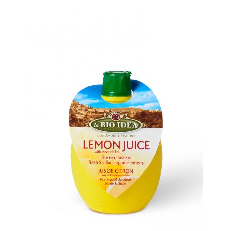 Sok z cytryny z olejkiem cytrynowym BIO 200ml LA BIO IDEA